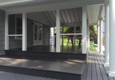 Galerie et patio fermé